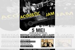 Acoustic Jam op Bevrijdingsdag in Cafe de Schelvis