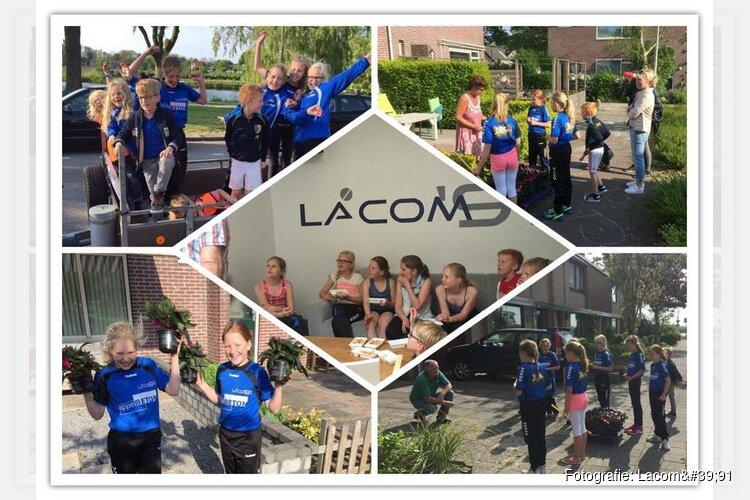 Verkoop Vlijtige Liesjes Lacom'91 en gymnastiekvereniging D.V.V.