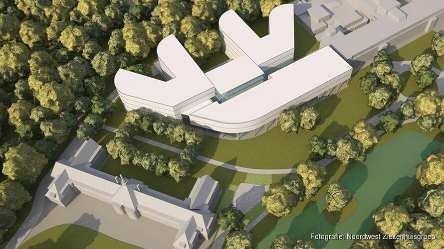 In beeld: Eerste schetsen vernieuwd Alkmaars ziekenhuis